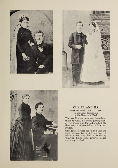 Page Image from the Carl and Ulricka Lemke family history